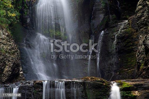 Dingman Falls, Delaware Water Gap National Recreation Area, Pennsylvania, USA