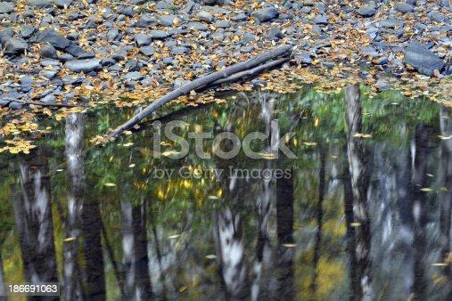 Dingmans Creek in Autumn, Delaware Water Gap National Recreation Area, Pennsylvania, USA