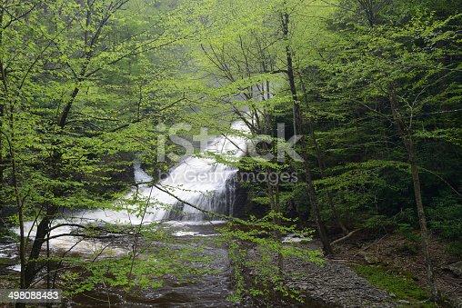 Dingmans Falls at Delaware Water Gap National Recreation Area, Pennsylvania, USA