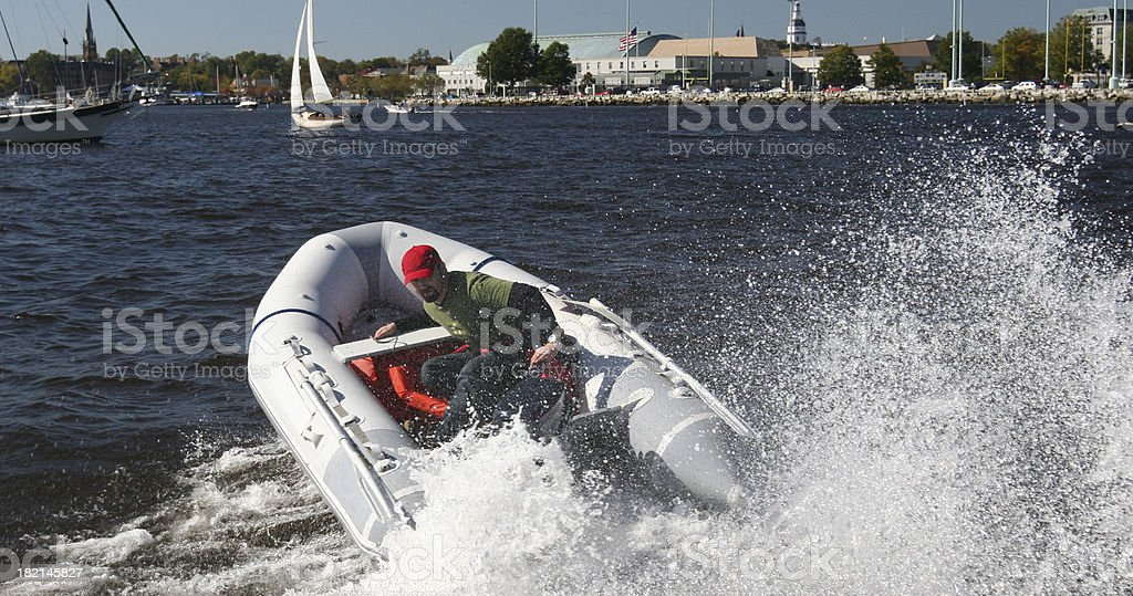 Dingy II royalty-free stock photo