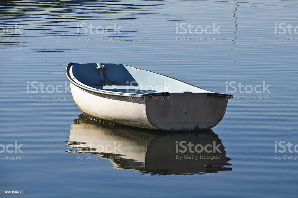 Dingy Reflections royalty-free stock photo