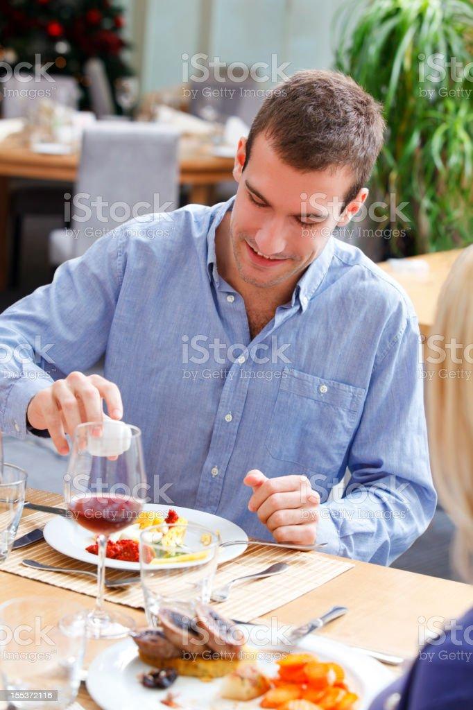 Dining royalty-free stock photo