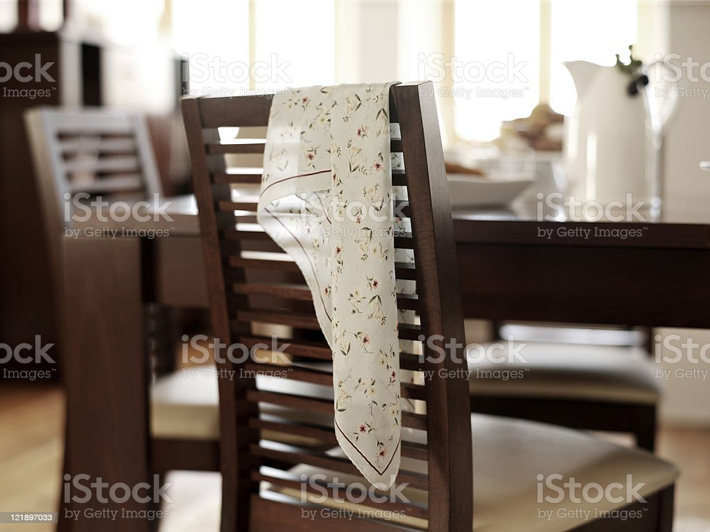 Dining Room Interior royalty-free stock photo