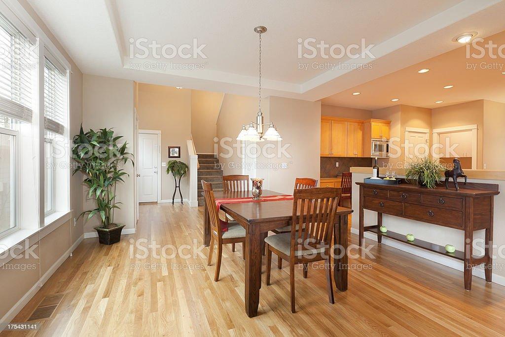 Dining Room & Kitchen stock photo