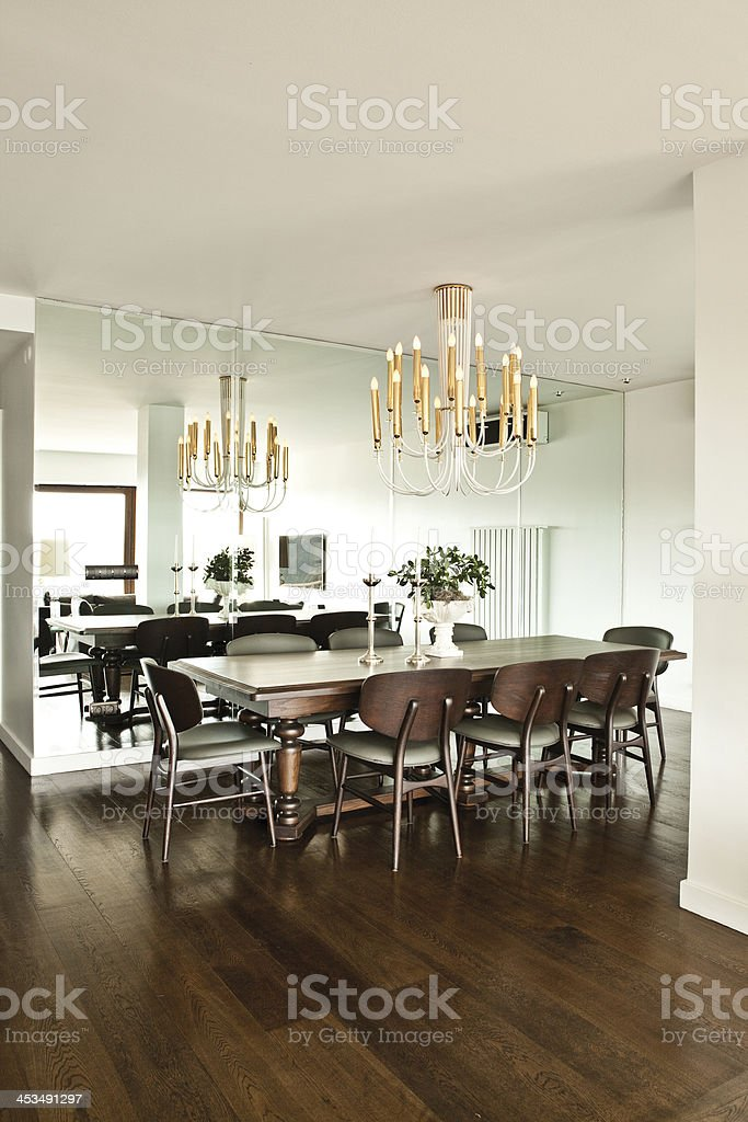 Nice dining room in suburban home