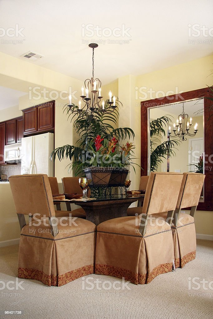 Dining room - Royalty-free Apartment Stock Photo