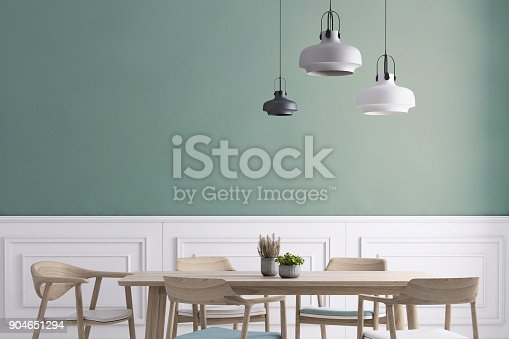 660325278istockphoto Dining room wall background template 904651294