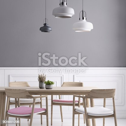660325278istockphoto Dining room wall background template 904651296