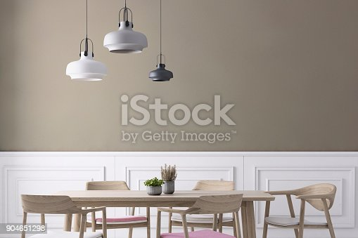 660325278istockphoto Dining room wall background template 904651298