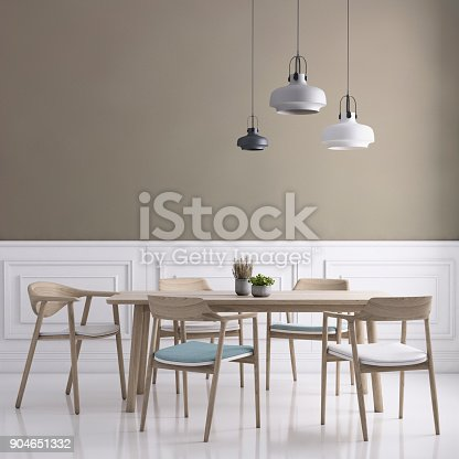 660325278istockphoto Dining room wall background template 904651332