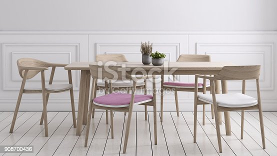 660325278istockphoto Dining room wall background template 908700436