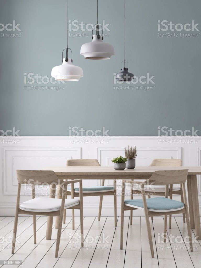 Dining Room Wall Background Template
