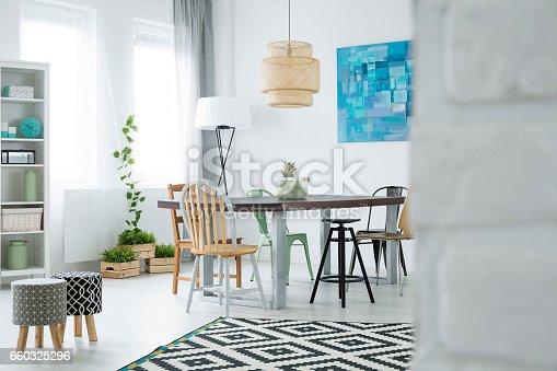 660325278istockphoto Dining room with window 660325296