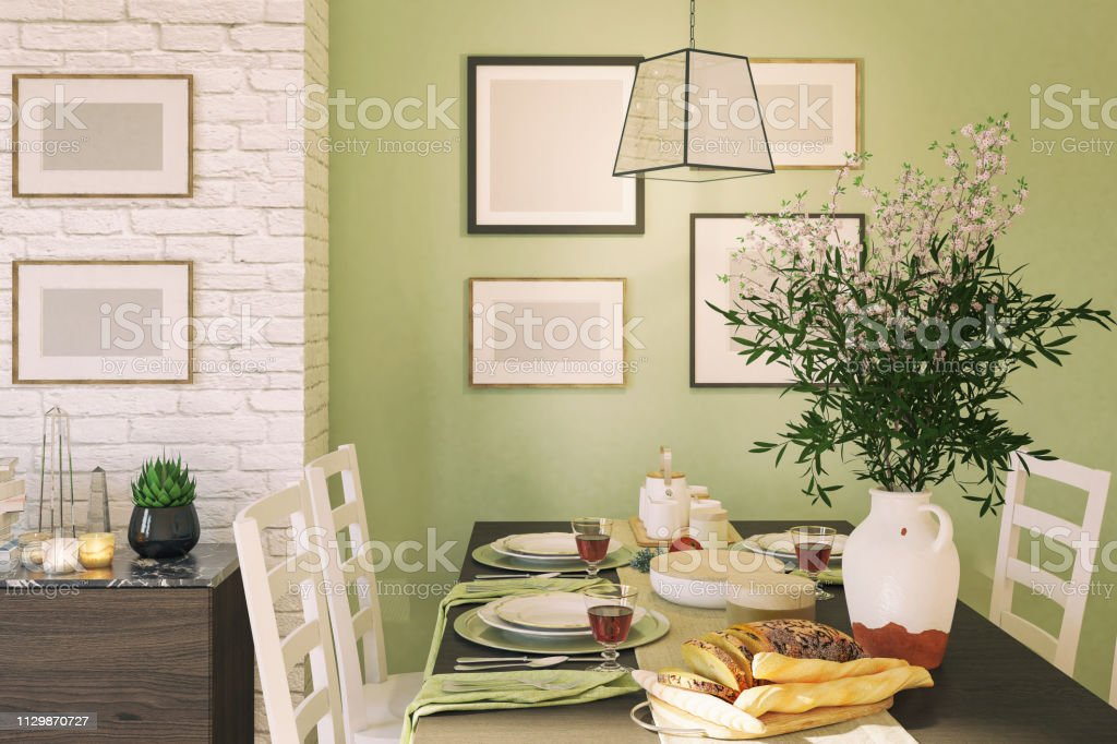 Dining Table Stock Photo Download Image Now Istock,Red White Blue Color Scheme