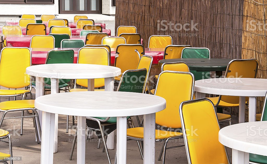 Dining table. royalty-free stock photo