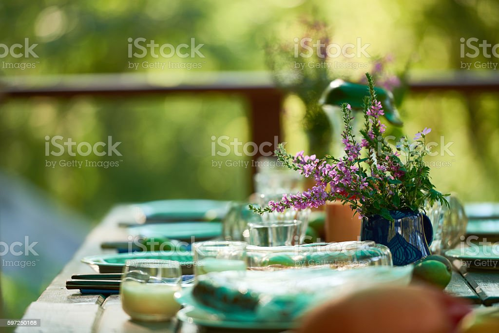 Dining table stock photo & Royalty Free Country Table Setting Pictures Images and Stock Photos ...