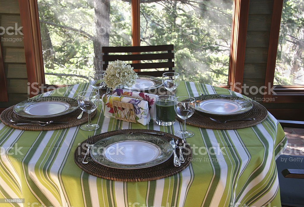 Dining With Nature royalty-free stock photo