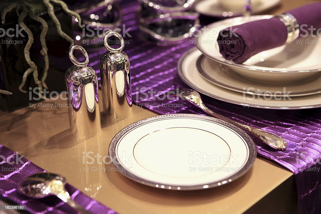 dining with style XXXL royalty-free stock photo