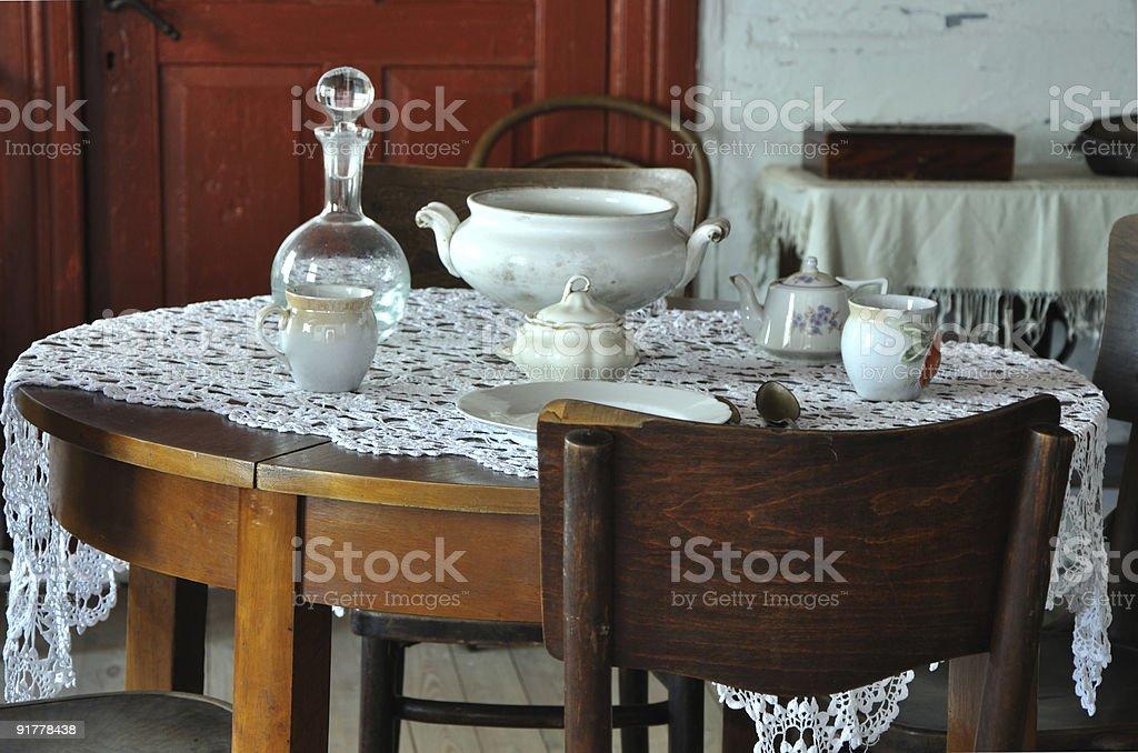 Esszimmer In Einem Old Bauernhaus Stockfoto Und Mehr Bilder Von Alt Istock