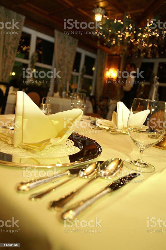 Diningroom royalty-free stock photo