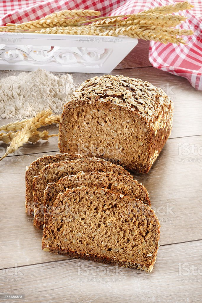 Dinkelbrot stock photo