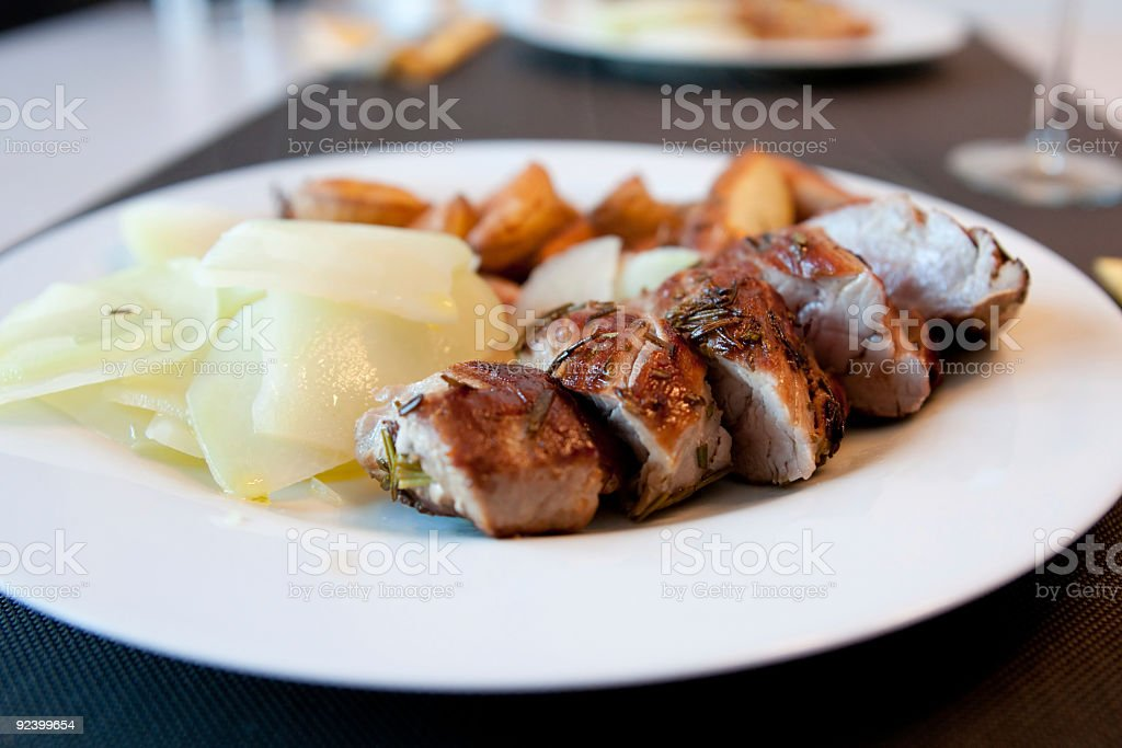dinner 4 two royalty-free stock photo