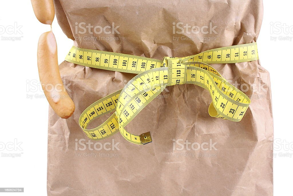 Dinner and diet concept, consume less food as background royalty-free stock photo