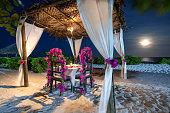 istock Dinner At The Beach 1198357647