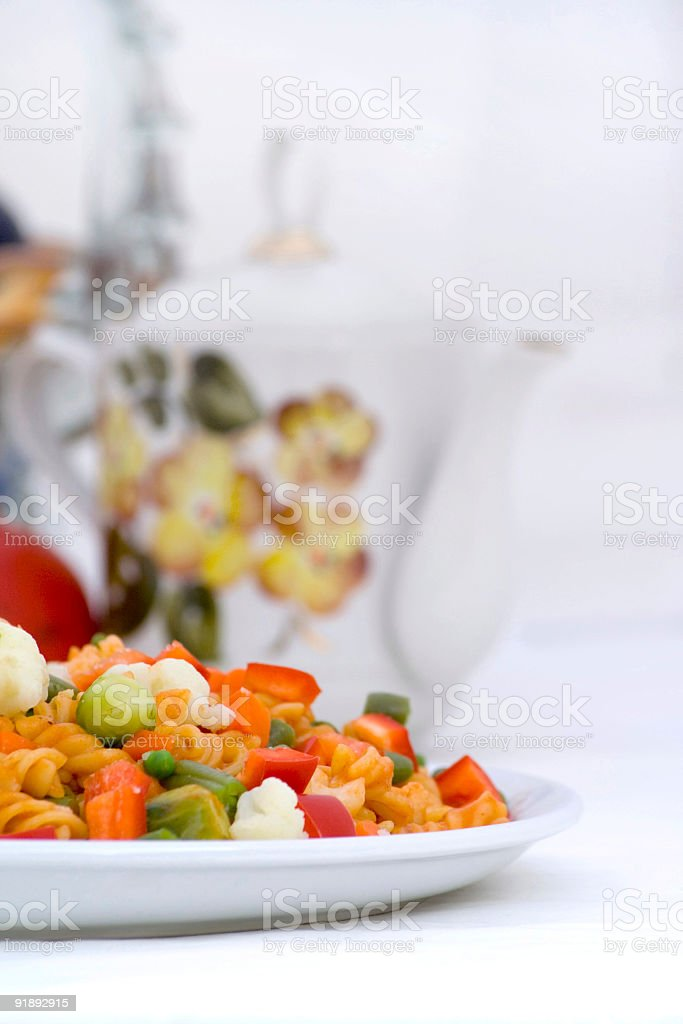 Dinner compose royalty-free stock photo
