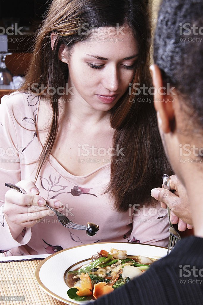 Dinner Date royalty-free stock photo