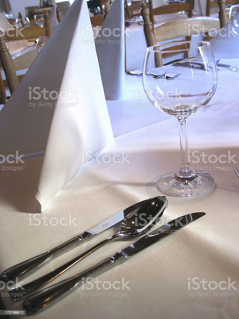 dinner for more royalty-free stock photo