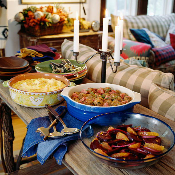 Abendessen-party – Foto