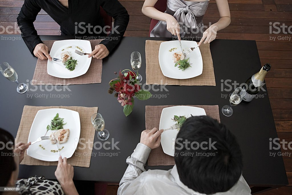 Dinner party 免版稅 stock photo