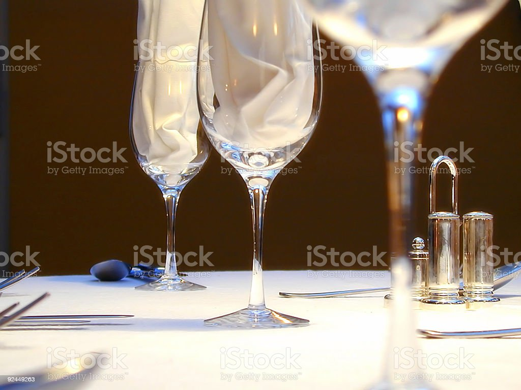 Dinner party royalty-free stock photo