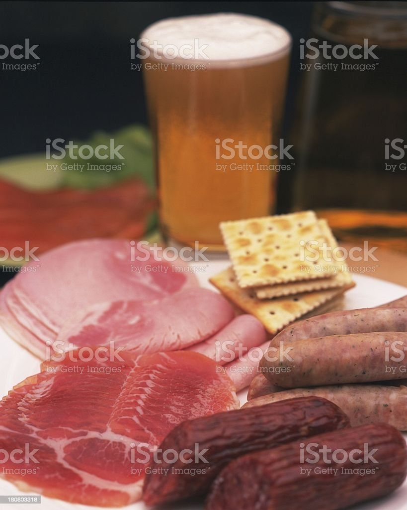 dinner royalty-free stock photo