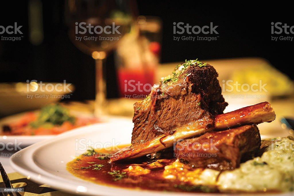 の夕食  ストックフォト
