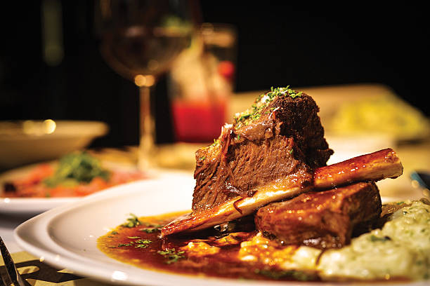 dinner - beef stock pictures, royalty-free photos & images