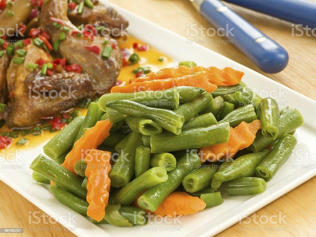 Dinner royalty-free stock photo