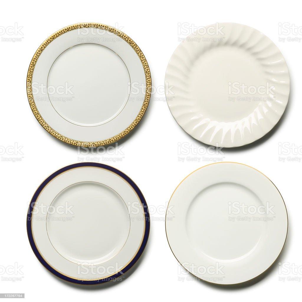 Dinner Plates stock photo