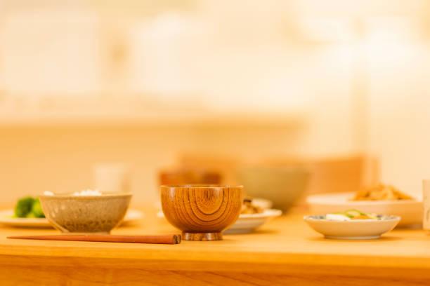 食卓 - ご飯茶碗 ストックフォトと画像
