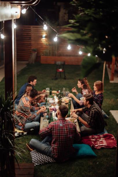Dinner mit Freunden – Foto