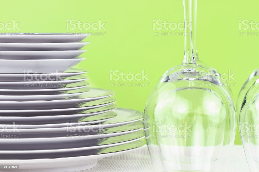 Dinnerware royalty-free 스톡 사진