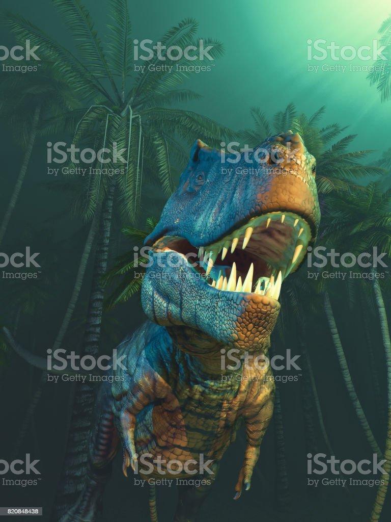 Dino dinosaurs stock photo