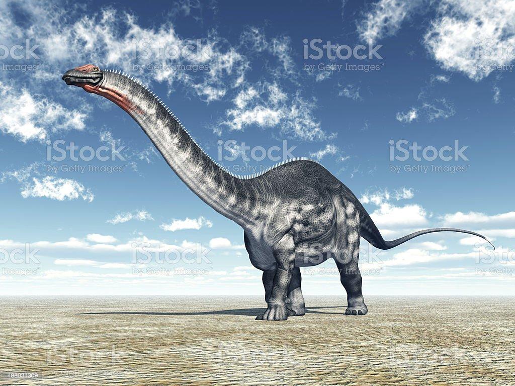 Dinosaur Apatosaurus royalty-free stock photo