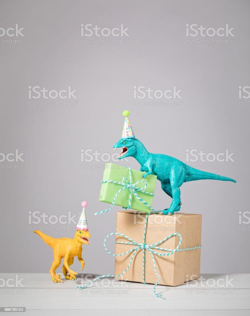Dinosaur Birthday Party - foto de acervo