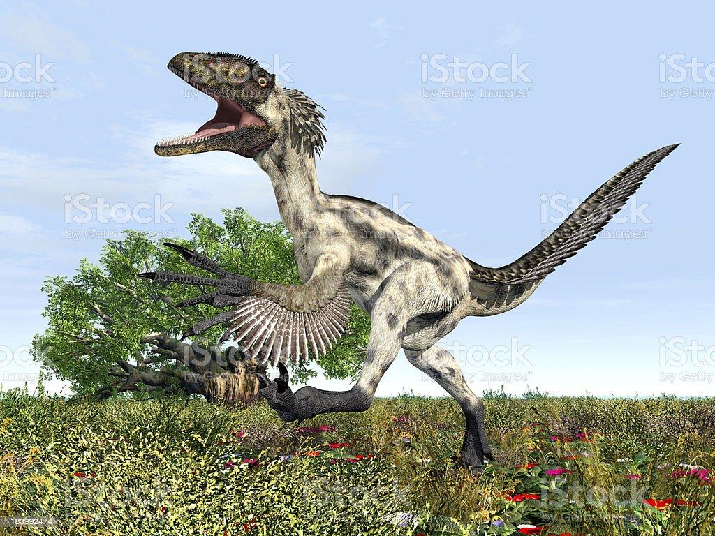 Dinosaur Deinonychus Stockfoto Und Mehr Bilder Von Ausgestorbene