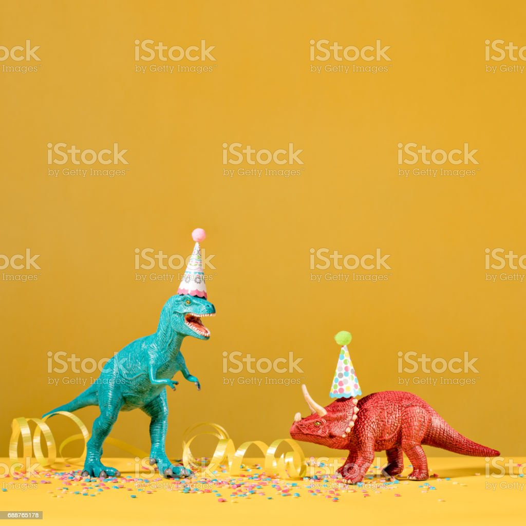 Dinosaur Party stock photo
