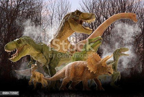 istock Dinosaur 698470592