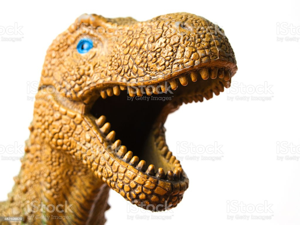 Dinosaur toy stock photo