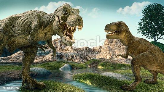 istock Dinosaurs 804308970